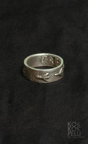 Cree LaRance /Eagle Track Ring 16号